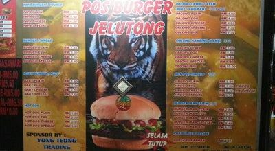 Photo of Burger Joint Pos Burger at Btwn Jelutong Hwy & Jln. Jelutong, Jelutong 11600, Malaysia
