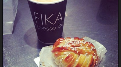 Photo of Cafe FIKA Swedish Espresso Bar at 41 West 58th St # 2, New York, NY 10019, United States