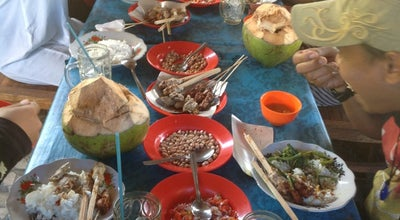Photo of Arcade Sate ikan @ warung mertasari at Pesinggahan, Dawan-klungkung, Indonesia