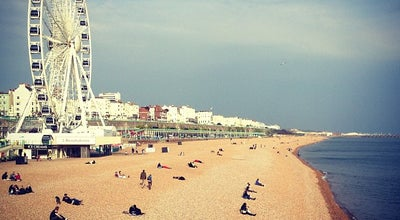 Photo of Beach Brighton Beach at King's Rd, Brighton, United Kingdom