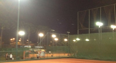 Photo of Tennis Court Quadra de Tênis at Praia Clube, Uberlândia 38400-076, Brazil