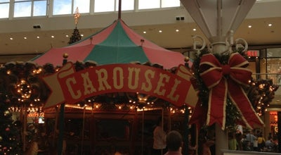 Photo of Theme Park Galleria Carousel at 3000 Riverchase Galleria, Hoover, AL 35244, United States