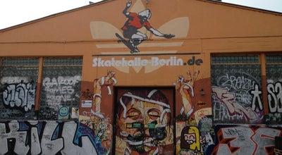Photo of Skate Park Skatehalle Berlin at Revaler Str. 99, Berlin 10245, Germany