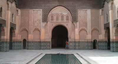 Photo of History Museum Medersa Ben Youssef at Marrakech, Morocco