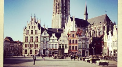 Photo of Monument / Landmark Grote Markt at Mechelen, Belgium