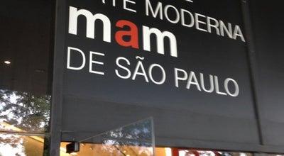Photo of Art Museum Museu de Arte Moderna de São Paulo (MAM-SP) at Parque Ibirapuera, São Paulo 04094-000, Brazil