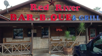 Photo of American Restaurant Red River Barbecue Company at 1911 E Main St, League City, TX 77573, United States