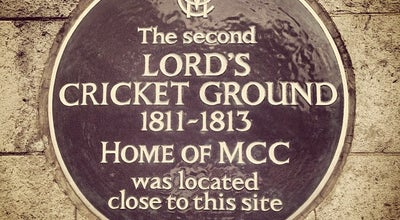 Photo of Cricket Ground Lord's Cricket Ground (MCC) at St John's Wood Rd, London NW8 8QN, United Kingdom