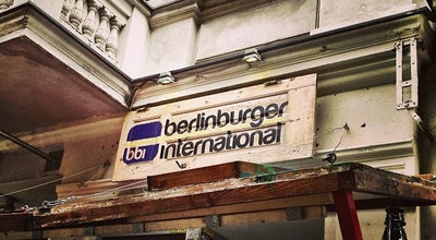 Photo of American Restaurant BBI - Berlin Burger International at Pannierstr. 5, Berlin 12047, Germany