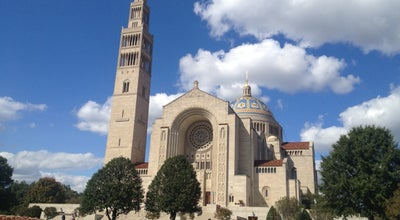 Photo of Church Basilica of the National Shrine of the Immaculate Conception at 400 Michigan Ave., Ne, Washington DC, DC 20017, United States