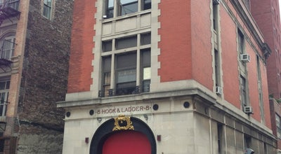 Photo of Monument / Landmark GhostBusters Firestation at 14 N Moore St, New York City, NY 10013, United States