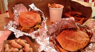 Photo of Burger Joint Five Guys Burgers & Fries at 1-3 Long Acre, London WC2E 9LH, United Kingdom
