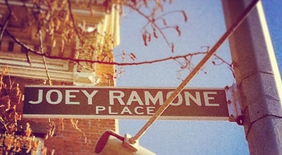 Photo of Monument / Landmark Joey Ramone Place at 325 Bowery, New York City, NY 10003, United States