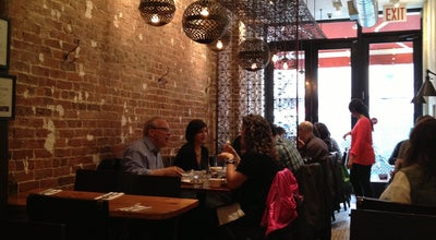 Photo of Mediterranean Restaurant Hummus Kitchen at 768 9th Ave, New York, NY 10019, United States