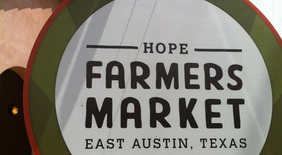 Photo of Other Venue HOPE Farmers Market at 414 Waller St, Austin, TX 78702, United States