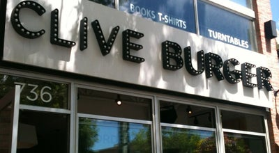Photo of American Restaurant Clive Burger at 736 17 Ave Sw, Calgary T2S 0B7, Canada