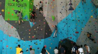 Photo of Athletics and Sports Rock Domain Climbing Gym at 1780 ถ. บางนา-ตราด, Bangkok 10260, Thailand