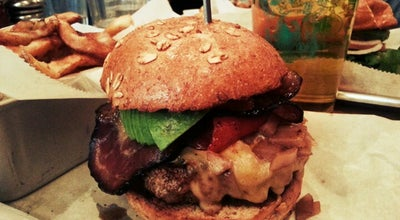 Photo of Burger Joint Bareburger at 153 8th Ave, New York, NY 10011, United States