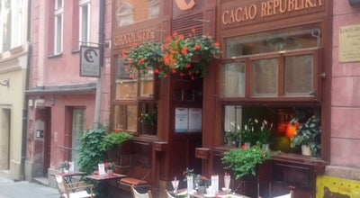 Photo of Cafe Cacao Republika at Ul. Zamkowa 7, Poznan 61-768, Poland