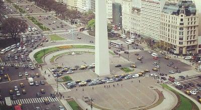 Photo of Monument / Landmark Obelisco - Plaza de la República at Av. 9 De Julio, Buenos Aires C1035AAE, Argentina