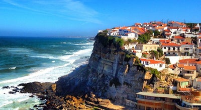 Photo of Beach Azenhas do Mar at Azenhas Do Mar - Colares, Sintra, Portugal