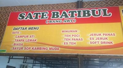 Photo of Arcade Sate Batibul Bang Awi at Jl Raya Ujung Rusi Adiwerna, Adiwerna, Tegal, Indonesia