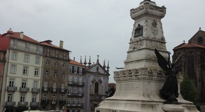 Photo of Plaza Praça do Infante D. Henrique at Porto, Portugal