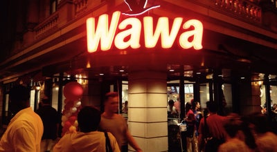 Photo of Convenience Store WaWa at Broad & Walnut Streets, Philadelphia, PA, United States