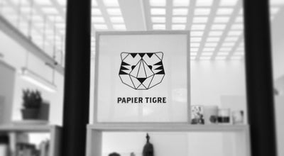 Photo of Paper / Office Supplies Store Papier Tigre at 5 Rue Des Filles Du Calvaire, Paris 75003, France
