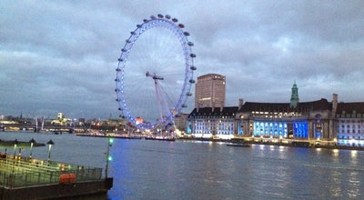 Photo of River River Thames at Westminster/london Eye, London, United Kingdom
