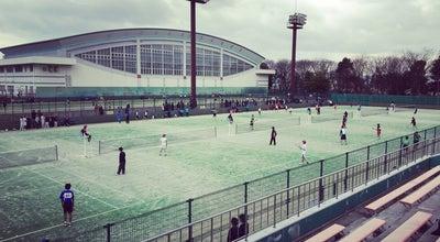 Photo of Tennis Court 山形県総合運動公園 テニスコート at 山王1-1, 天童市, Japan