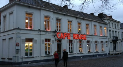 Photo of French Restaurant Cafe Rouge at Sint-maartenskerkhof 6a, Kortrijk, Belgium