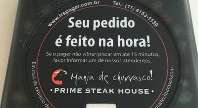 Photo of Steakhouse Mania de Churrasco Prime Steak House at Shopping Iguatemi Alphaville, Barueri 06454-913, Brazil