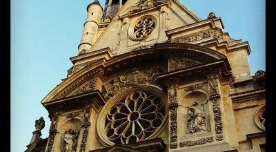 Photo of Monument / Landmark St. Etienne du Mont at Place Ste. Geneviève, Paris, France