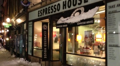 Photo of Coffee Shop Espresso House at Västerlånggatan 57, Stockholm 111 29, Sweden