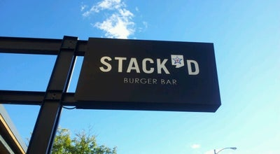 Photo of American Restaurant Stack'd Burger Bar at 170 S 1st St, Milwaukee, WI 53204, United States