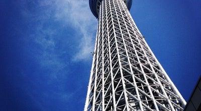 Photo of Monument / Landmark 東京スカイツリー (Tokyo Skytree) at 押上1-1-2, 墨田区 131-0045, Japan