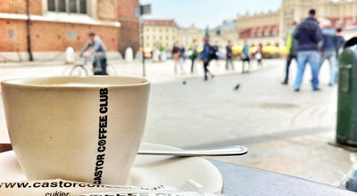 Photo of Cafe Castor coffee club at Pl. Mariacki 1, Krakow 31-042, Poland