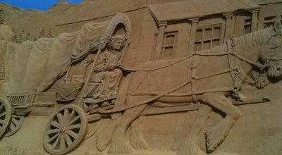 Photo of Monument / Landmark Sandskulpturfestival i Soendervig at Lodbergvej 44, Ringkobing 6950, Denmark