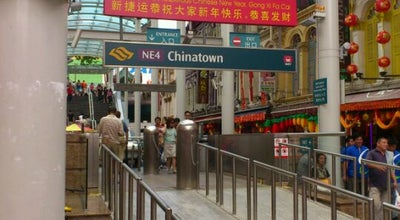 Photo of Subway Chinatown MRT Interchange (NE4/DT19) at 151 New Bridge Rd., Singapore 059443, Singapore