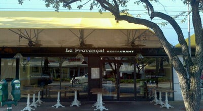Photo of French Restaurant Le Provencal at 266 Miracle Mile, Coral Gables, FL 33134, United States