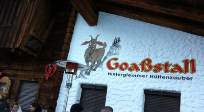 Photo of German Restaurant Goassstall at Reiterkogelweg 491, Saalbach-Hinterglemm 5754, Austria