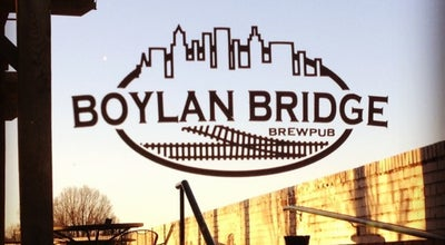 Photo of American Restaurant Boylan Bridge Brewpub at 201 S Boylan Ave, Raleigh, NC 27603, United States