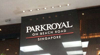 Photo of Hotel PARKROYAL on Beach Road at 7500 Beach Rd, Singapore 199591, Singapore
