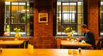 Photo of Cafe J+A Café at 4 Sutton Ln, London EC1M 5PU, United Kingdom