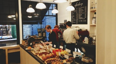Photo of Cafe Department Of Coffee And Social Affairs at 3 Lowndes Court, London W1F 7HD, United Kingdom