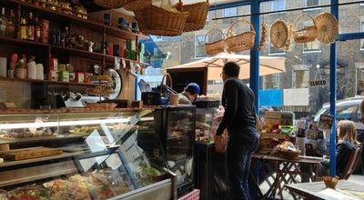Photo of Italian Restaurant Angel Delicatessen at 48 Cross Street, London N1 2BA, United Kingdom