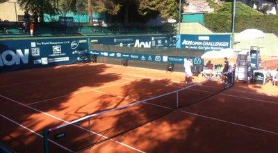 Photo of Tennis Court Tennis Club Le Palme at Via Tommaso Campanella, 4, Genova 16146, Italy