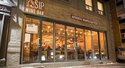Photo of Italian Restaurant Sip Wine Bar at 2 Broadway Ave, Toronto, Canada