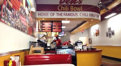 Photo of American Restaurant Ben's Chili Bowl at 1725 Wilson Blvd, Arlington, VA 22209, United States